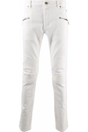 Balmain Zip-detail slim-fit jeans