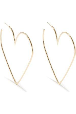 Isabel Marant Women Earrings - Heart Hoop Earrings - Womens