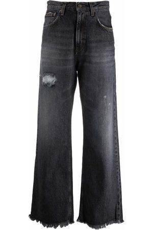 haikure Women Wide Leg - Wide-leg distressed jeans