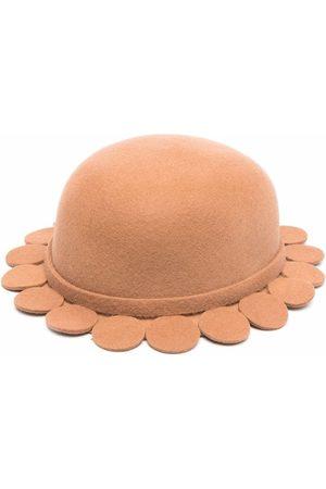Mimisol Girls Hats - Scallop-hem sun hat