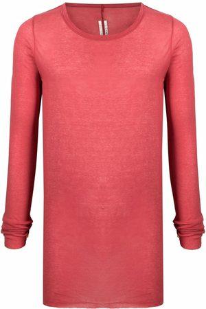 Rick Owens Men Long Sleeve - Fine-knit long-sleeve top