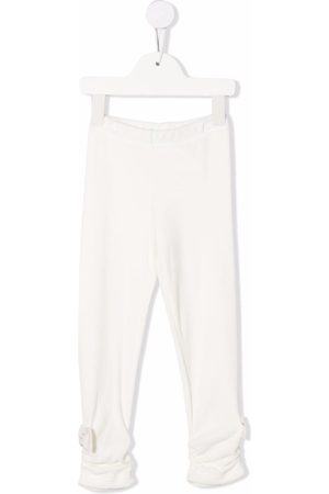 Lapin House Boys Bow Ties - Bow-detail fitted trousers - Neutrals