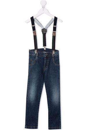 Lapin House Straight Leg Pants - Straight-leg dungarees