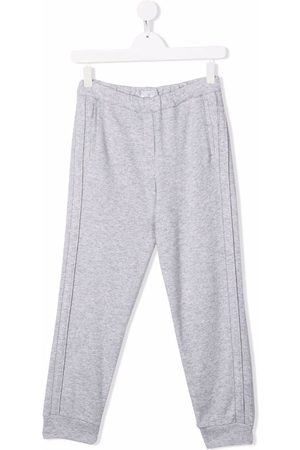 Brunello Cucinelli Pants - Side stripe-detail trousers - Grey