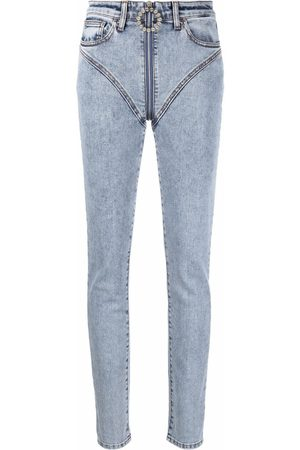 Alessandra Rich Women High Waisted - High-waisted skinny jeans
