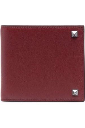 VALENTINO GARAVANI Men Wallets - Rockstud-embellished leather wallet