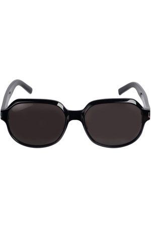 Saint Laurent Sl 496 Round Acetate Sunglasses