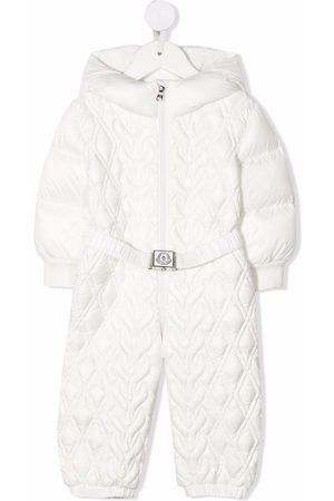 Moncler Diamond-quilted all-in-one
