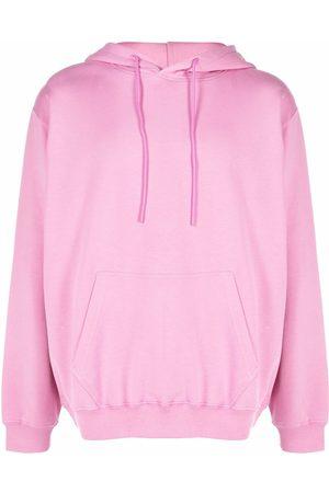 Msgm Men Hoodies - Contrasting logo-print hoodie