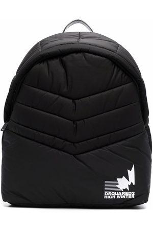 Dsquared2 Men Rucksacks - Padded logo-print backpack