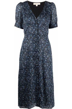 Michael Kors Floral-print midi dress