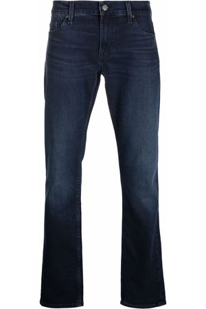 7 for all Mankind Dark-wash slim-fit jeans