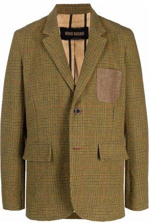 UMA WANG Men Blazers - Single-breasted wool blazer