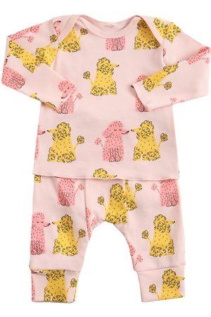 Stella McCartney Girls Sweatpants - Organic Cotton Sweatshirt & Sweatpants