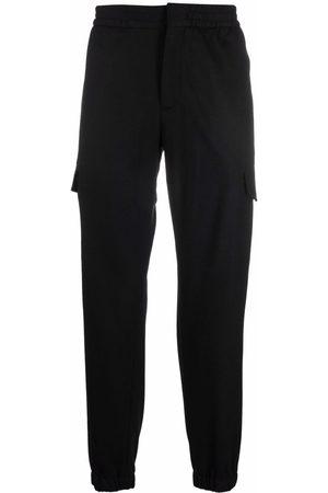 Ermenegildo Zegna Elasticated-waist cotton cargo trousers