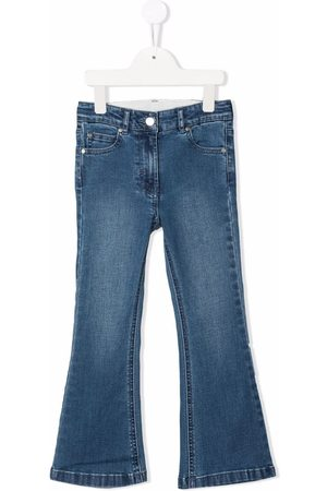 Stella McCartney Girls Flares - Flared organic-cotton denim jeans