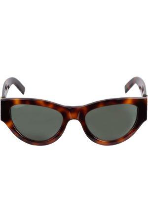 Saint Laurent Women Round - Sl M94 Round Acetate Sunglasses