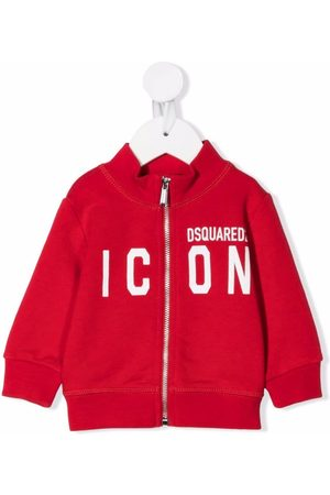 Dsquared2 Hoodies - Zipped icon-print jumper