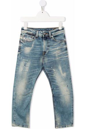 Diesel Boys Slim - Mid-rise slim-fit jeans