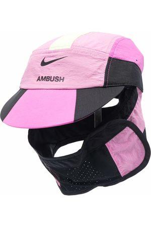 AMBUSH Caps - X Nike logo-print panelled cap