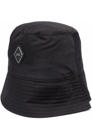 A-cold-wall* Men Hats - Logo patch bucket hat