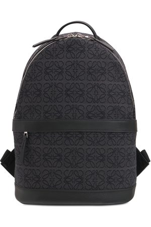Loewe All Over Anagram Canvas Backpack