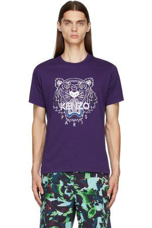 Kenzo Men T-shirts - Purple Tiger Classic T-Shirt