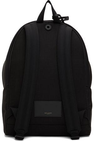 Saint Laurent Men Luggage - Black Nylon City Bag