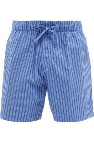 Tekla Men Pajamas - Striped Organic-cotton Pyjama Shorts - Mens - Stripe