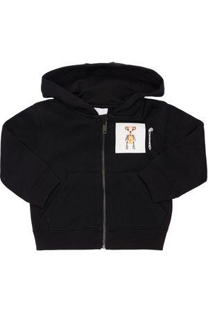 Burberry Boys Hoodies - Bear Print Cotton Sweatshirt Hoodie