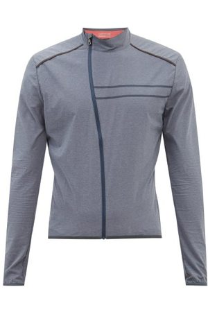 Ashmei Men Sports Jackets - Packable Technical-shell Jacket - Mens - Navy