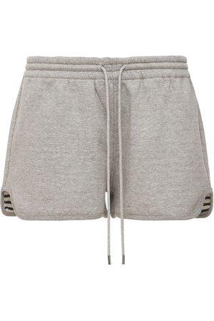 THEORY Women Shorts - Cotton Sweat Shorts
