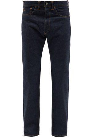 RRL Men Straight - Straight-leg Jeans - Mens - Dark Indigo