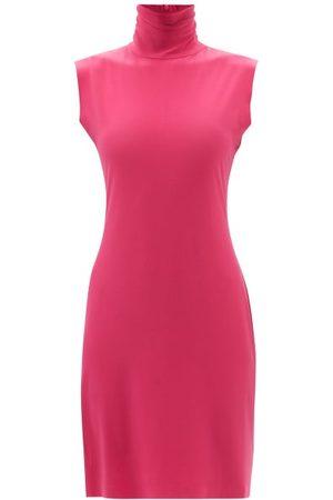Norma Kamali Turtle Slim-fit Jersey Dress - Womens
