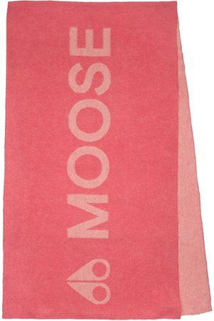 Moose Knuckles Women Scarves - Logo Wool & Cashmere Scarf