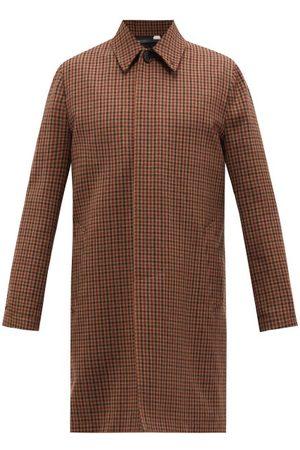 Paul Smith Men Coats - Gun Club-check Wool-twill Overcoat - Mens - Multi