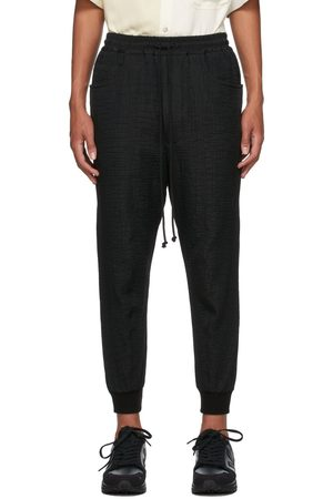 SONG FOR THE MUTE Men Sweats - Canvas Crinkled Tapered Lounge Pants