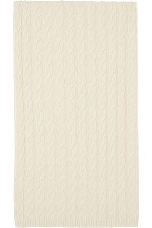 Totême Women Scarves - Off-White Cashmere Cable Knit Scarf