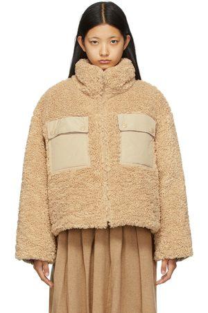 SJYP Women Jackets - Down Sherpa Contrast Jacket