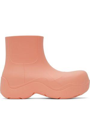 Bottega Veneta Women Ankle Boots - Pink Puddle Ankle Boots