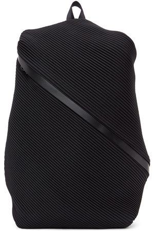 PLEATS PLEASE ISSEY MIYAKE Women Rucksacks - Black Bias Pleats Backpack