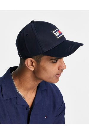 Tommy Hilfiger Cap with box script logo in navy