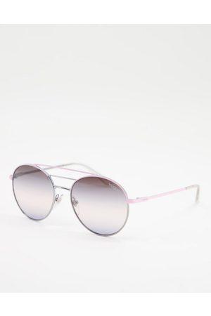 vogue Oversized Round Sunglasses