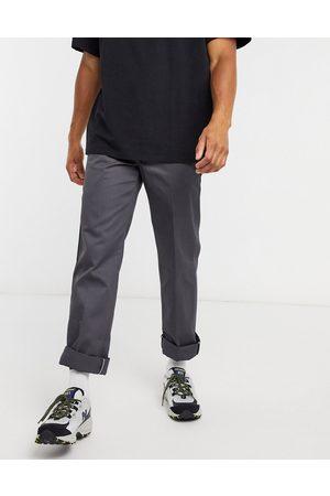 Dickies 873 slim straight work pants in charcoal -Grey