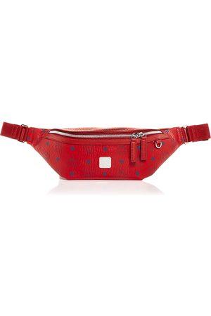 MCM Visetos Medium Belt Bag