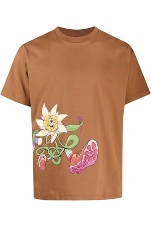 Jacquemus Graphic-Print Short-Sleeve T-Shirt
