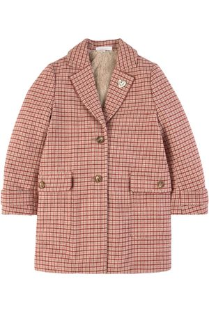 Chloé Kids - Check Blazer - Girl - 4 years - - Spring and fall jackets