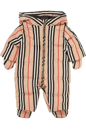 Burberry Kids - Archive Check River Snowsuit - Girl - 3 months - - Snowsuits and bunting