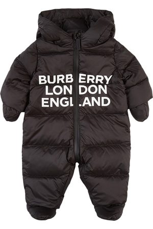 Burberry Kids - London England River Snowsuit - Boy - 3 months - - Snowsuits and bunting