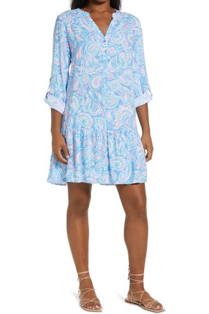 Lilly Pulitzer Women's Lilly Pulitzer Charlee Floral Long Sleeve Tunic Dress